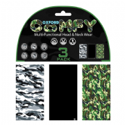 Oxford Comfy neck tube 3 pack Camo NW123